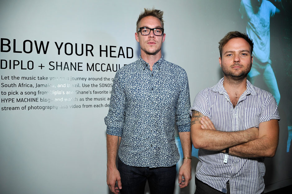 "Diplo, Shane McCauley, ""Blow Your Head,"" interactive, art, exhibition, Los Angeles"
