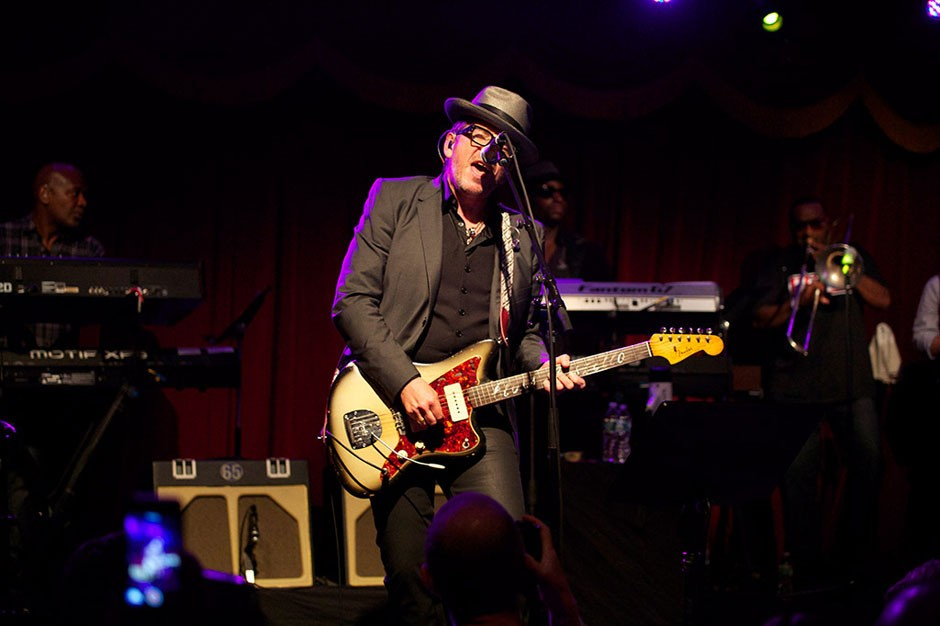 Elvis Costello and the Roots at Brooklyn Bowl, Brooklyn, NY, September 16, 2013