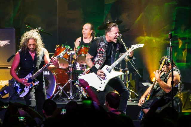Metallica at the Apollo Theater, New York, NY, September 20, 2013 / Photo by Joe Papeo