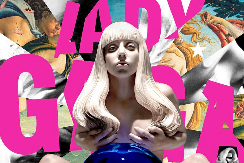Lady Gaga 'Artpop' Album Cover Art Nude Jeff Koons