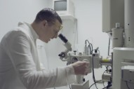 Yeasayer Play Dutch Doctor in 'Glass of the Microscope' Video