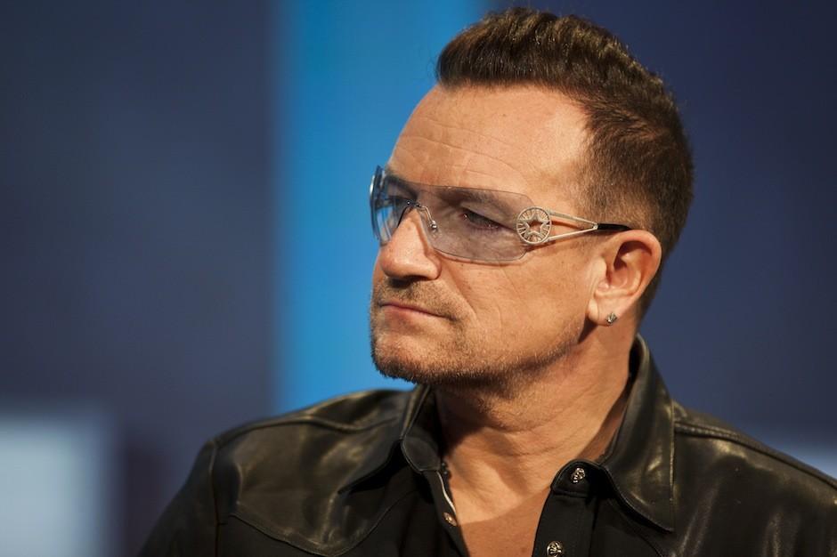 U2, April, album, Super Bowl commercial