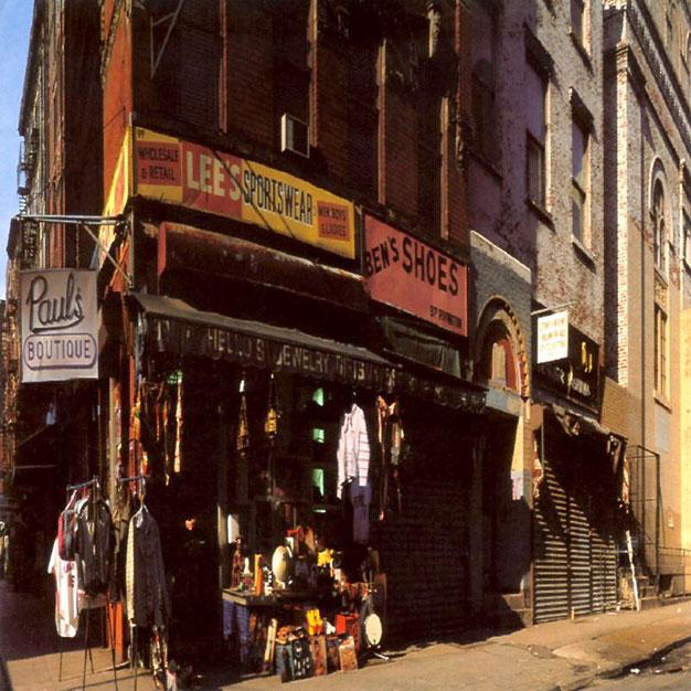 beastie boys, paul's boutique, lower east side, street corner