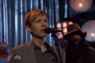 Watch Beck's Low-Key 'Fallon' Performances