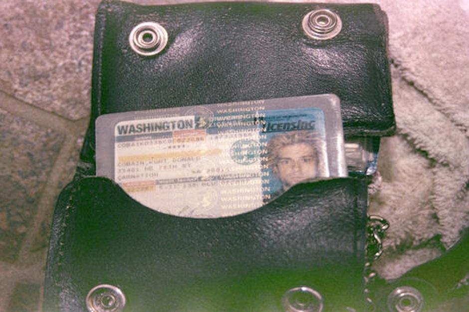 Kurt Cobain, death scene, photos