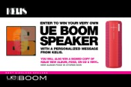 Win UE Boom Speakers With a Personalized Message From Kelis, Plus More!