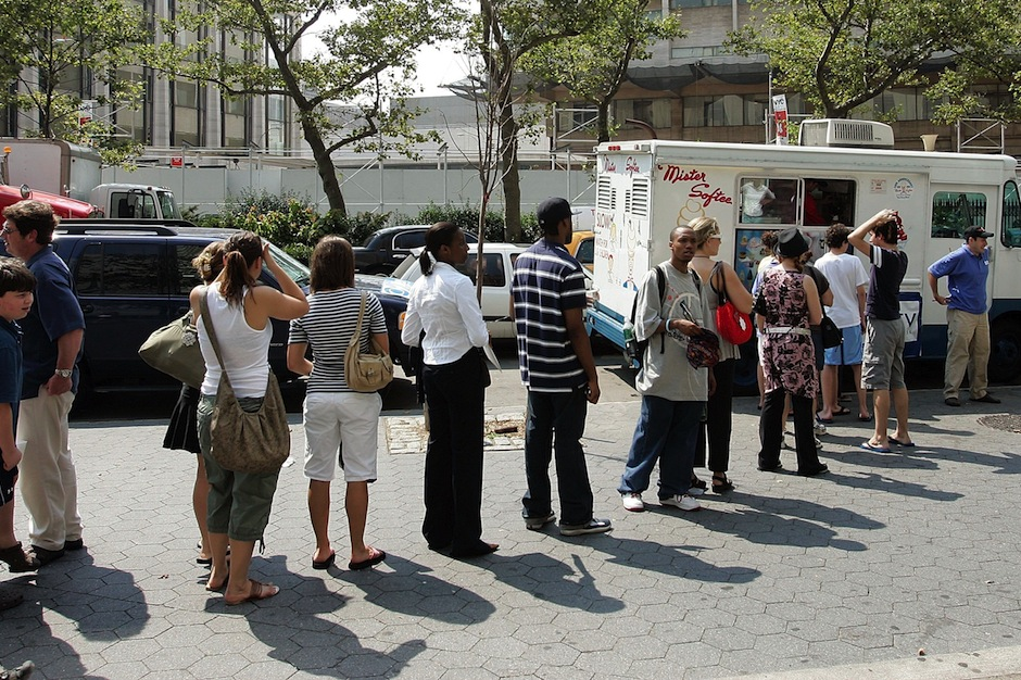 ice cream truck, racist, offensive