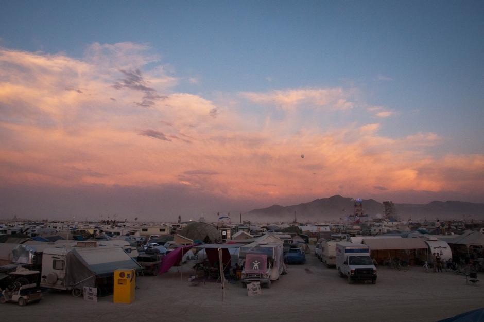 Burning Man 2014 death woman bus