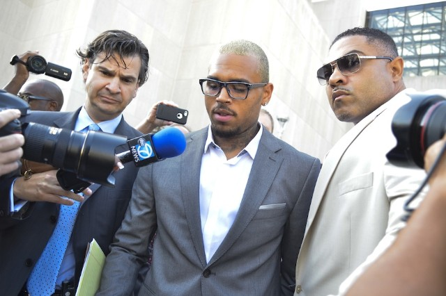 Chris Brown Misdemeanor assault Charge Washington DC W Hotel Plead Guilty