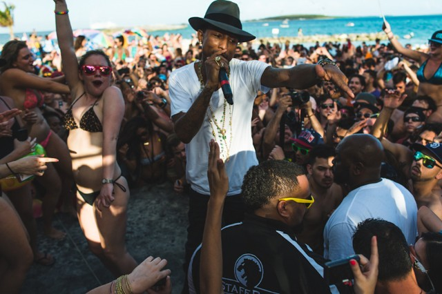 Pharrell Williams at Holy Ship!!!, January 9-11, 2014