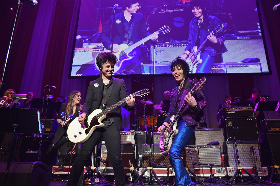 Joan Jett, Billie Joe Armstrong, Rock and Roll Hall of Fame