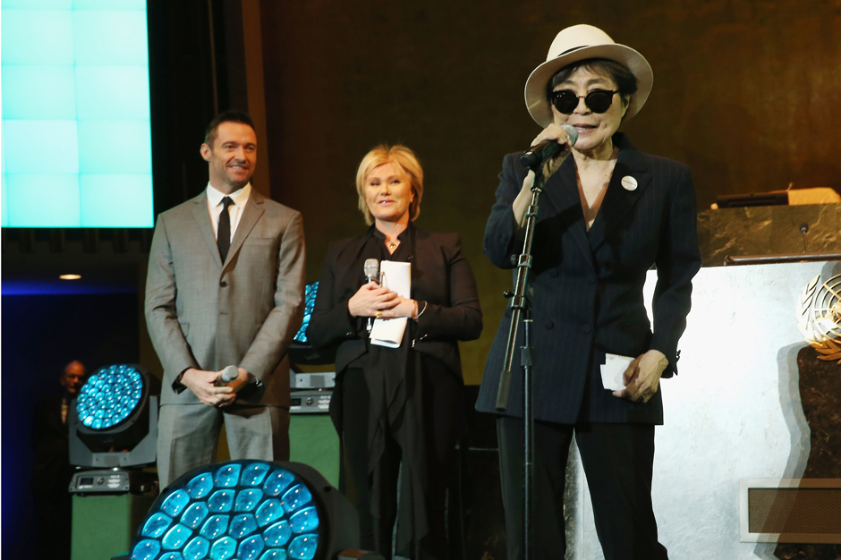 Celebrate Yoko Ono S Birthday With A New Version Of I Love You Earth Spin