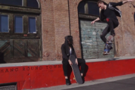 Matt and Kim Skateboard Around LA in 'Hoodie On' Video
