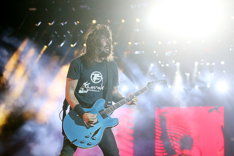 Dave Grohl, Rock and Roll Hall of Fame, Induction Ceremony