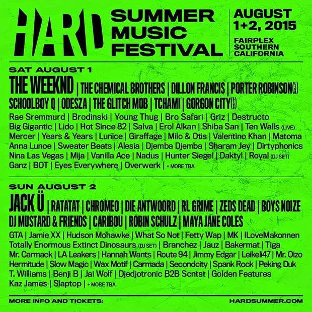 hard-summer-2015-lineup