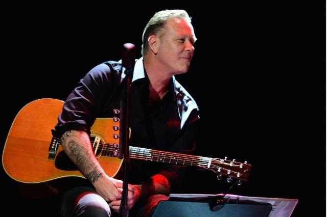James Hetfield live in 2014
