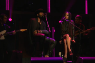 Twin Shadow Covered Sade's 'No Ordinary Love' With Zoe Kravitz on 'Seth Meyers'