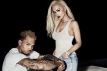 Rita Who and Chris Brown