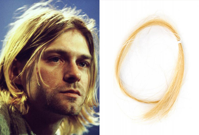 kurt cobain hair