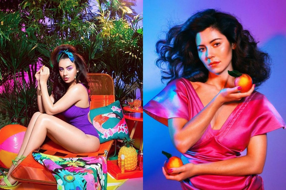Marina And The Diamonds Shades Charli Xcx On Instagram Charli