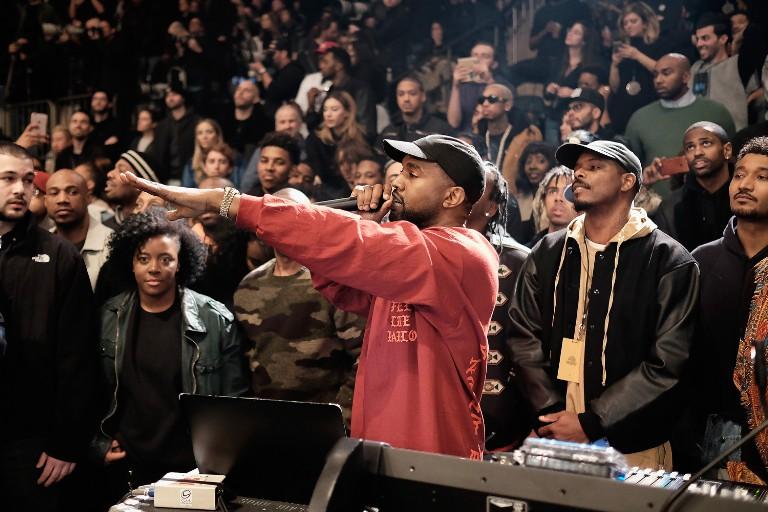 Kanye West at Yeezy Season 3