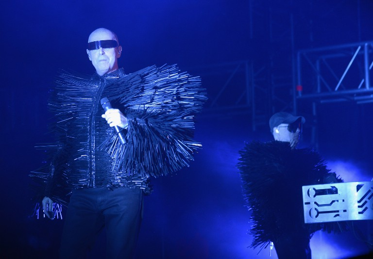 Pet Shop Boys at 2014 Coachella Valley Music and Arts Festival - Day 2