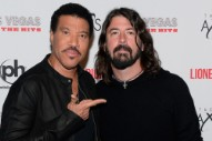 That Time Lionel Richie Gave Dave Grohl a Muffin Basket