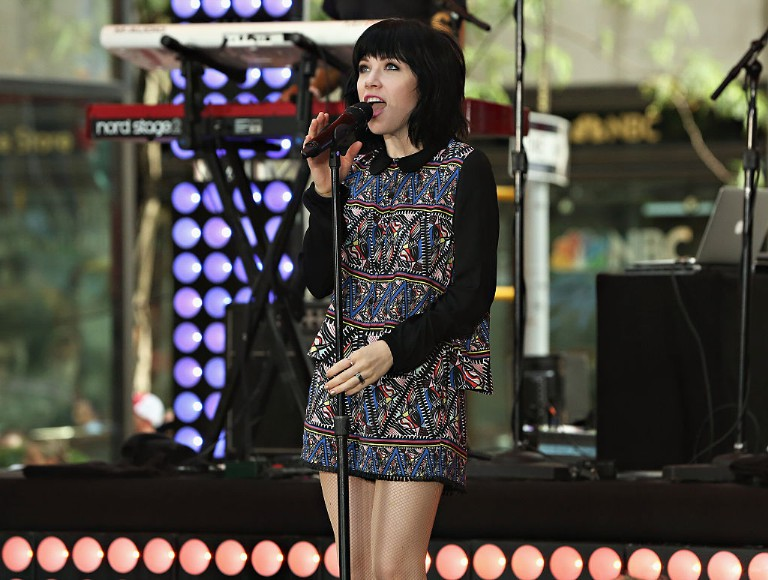 Carly Rae Jepsen Performs On NBC's