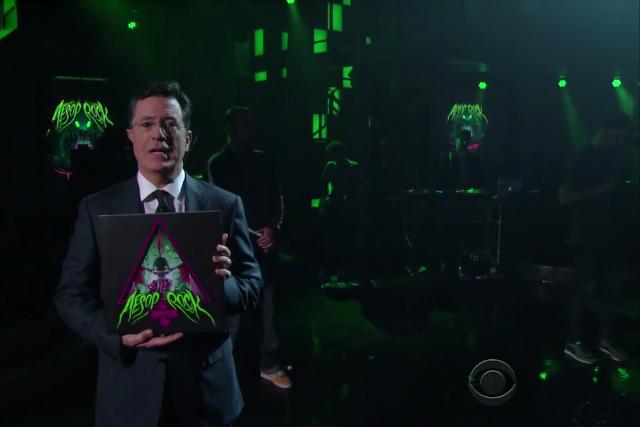Stephen Colbert Aesop Rock