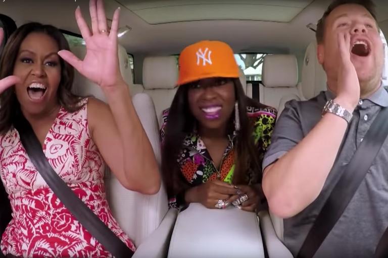 michelle-obama-missy-elliott-carpool-karaoke-james-corden-watch