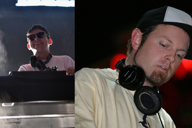 Hudson Mohawke/DJ Shadow