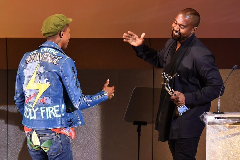 Kanye West Pharrell Williams