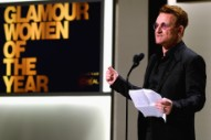 "Bono During His 'Woman of the Year' Acceptance Speech: ""It's Ridiculous for Me to Be Here"""