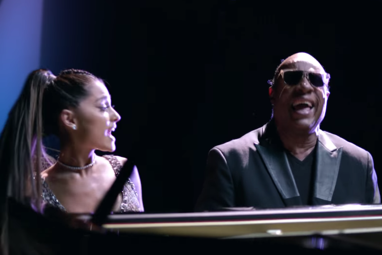 ariana stevie wonder