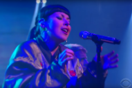 """Watch Sleigh Bells Perform """"I Can Only Stare"""" on <em>Colbert</em>"""