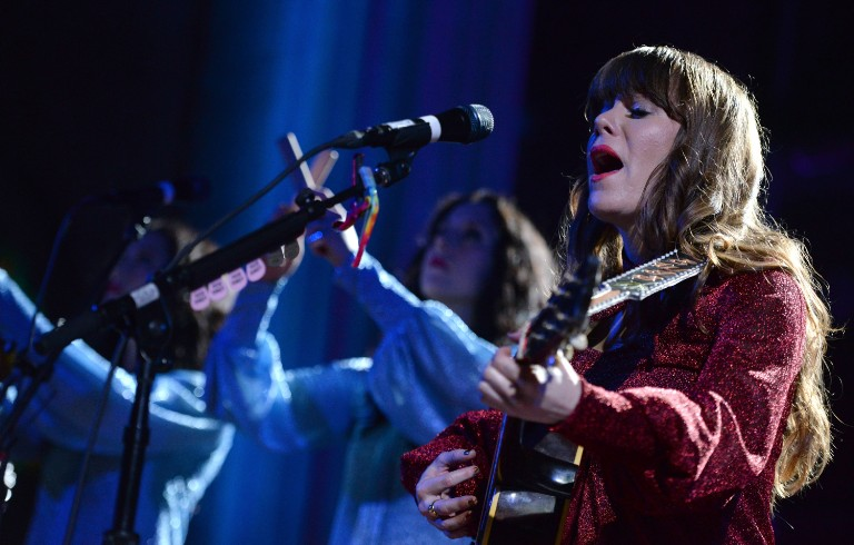 Jenny Lewis And The Watson Twins Perform At Immanuel Presbyterian Church