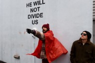 Shia LaBeouf Arrested at His Anti-Trump Performance Art Piece [UPDATE]
