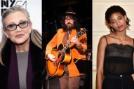 "Hear ""Bird Song,"" a Track by Sean Lennon, Carrie Fisher, and Willow Smith"
