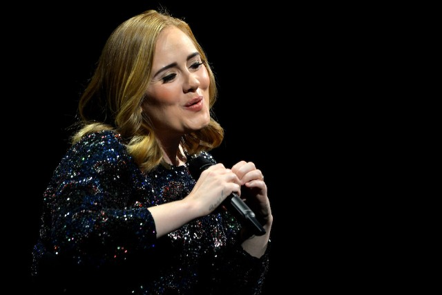 Adele Performs At The Sportpaleis, Antwerp