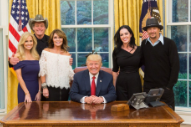 Kid Rock, Ted Nugent, and Sarah Palin Walk Into a Bar—Okay, the White House
