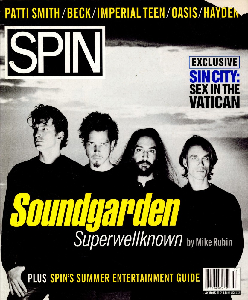 Superwellknown: The 1996 Soundgarden <i>Down on the Upside</i> Cover Story