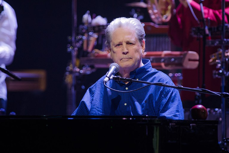 Brian Wilson Performs At La Salle Pleyel in Paris