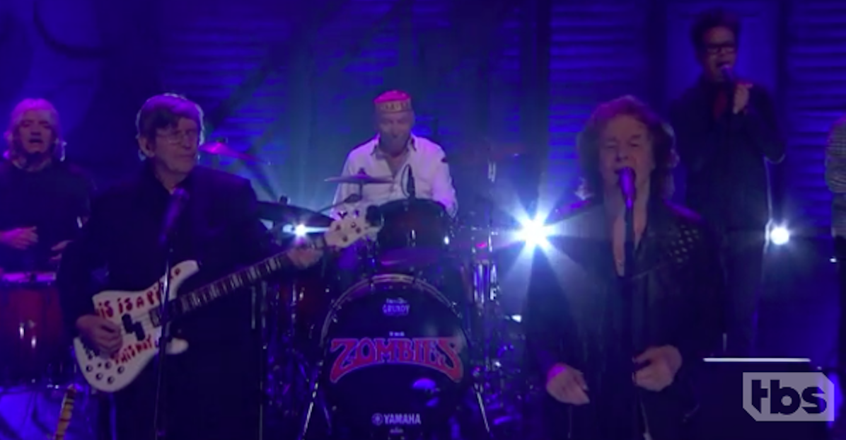 Watch The Zombies Play Time Of The Season S Town Theme A Rose For Emily On Conan Spin