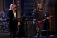 "Watch Lindsey Buckingham and Christine McVie Perform ""In My World"" on <i>Fallon</i>"