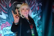 """Ronnie James Dio's Widow Calls Gene Simmons' Devil Horns Trademark Attempt """"Disgusting"""""""
