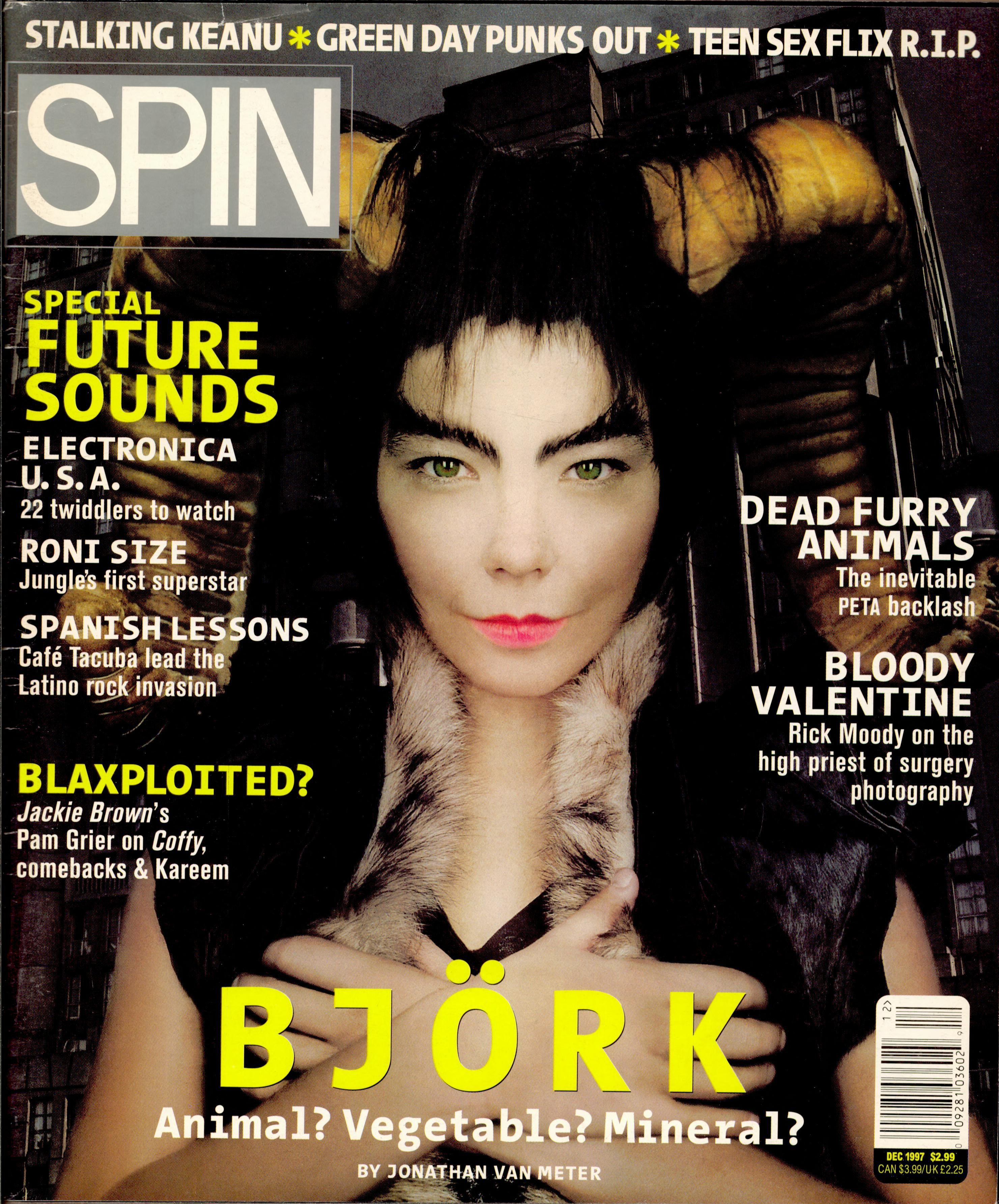 Björk's December 1997 <i>Homogenic</i> Cover Story: The Outer Limits