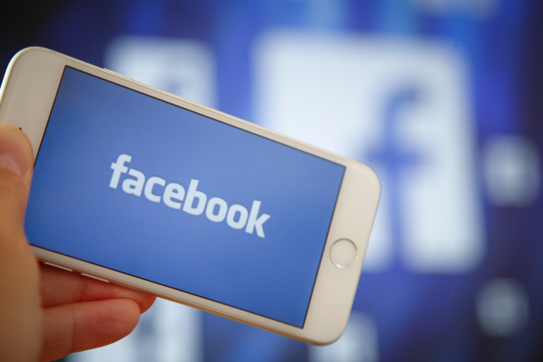 Facebook on smartphones and tv's