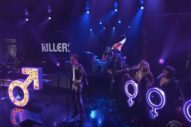 "Watch the Killers Perform ""The Man"" on <em>Colbert</em>"