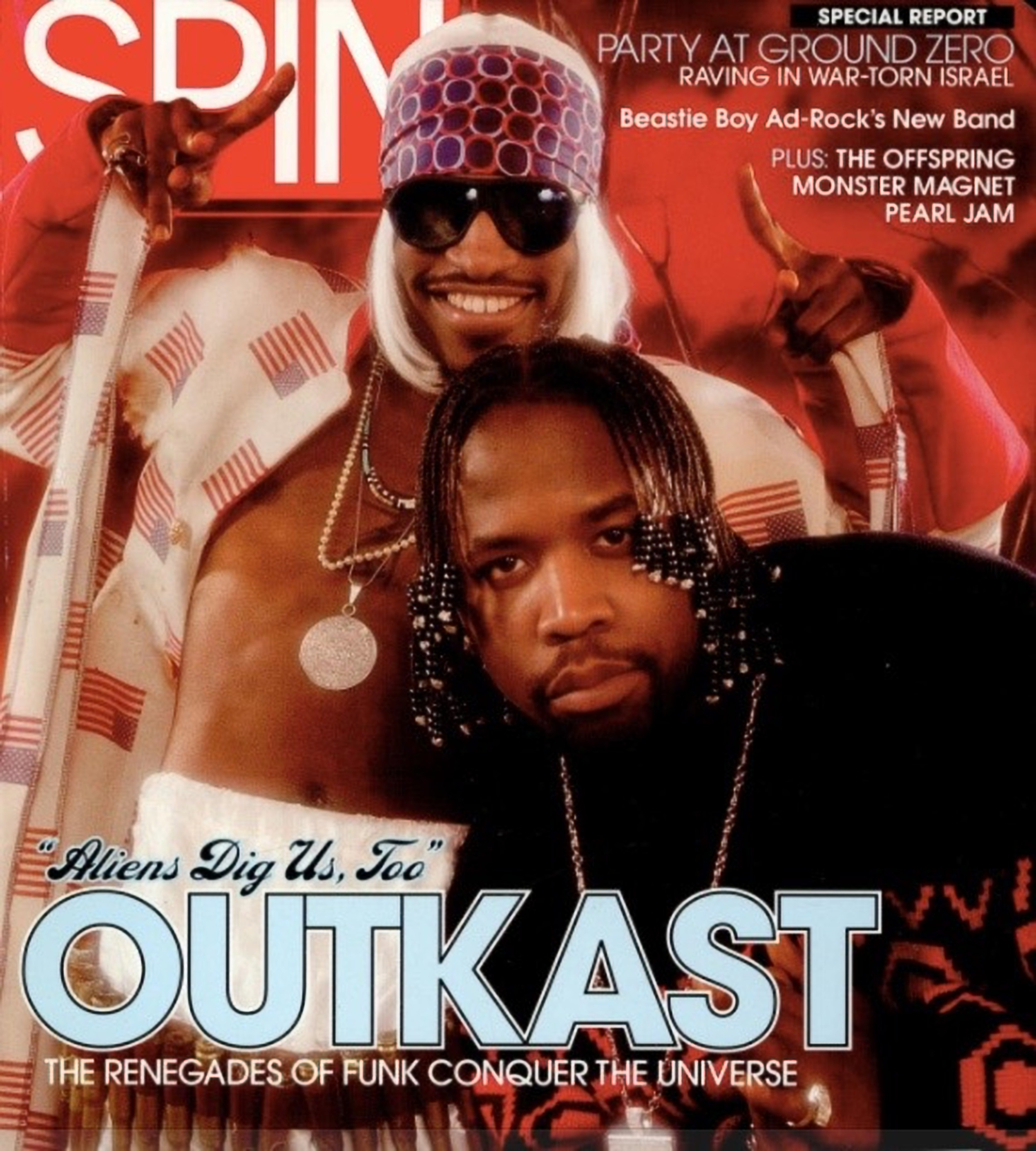 OutKast's 2001 <i>Stankonia</i> Cover Story: The End of the Ice Age?