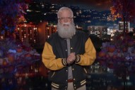 Watch Dave Grohl Guest Host <i>Kimmel</i> While Dressed as David Letterman